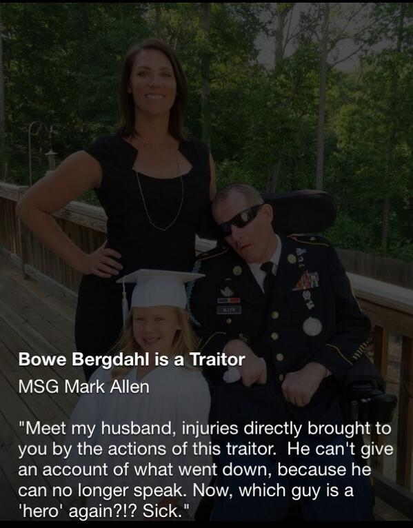 Disabled Vet Bergdahl
